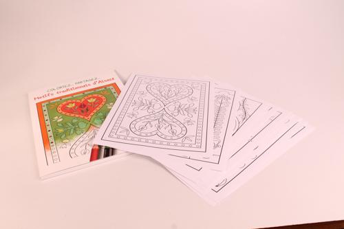 Carnet de coloriage 09