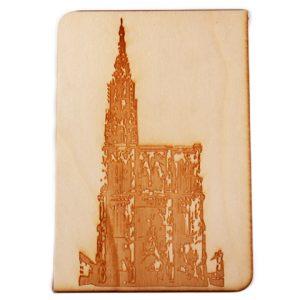 Carte postale Cathedrale Strasbourg