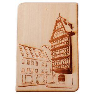 Carte postale Maison Kammertzell Strasbourg