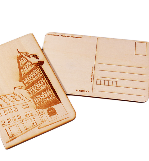 Carte postale Maison Kammertzell Strasbourg2