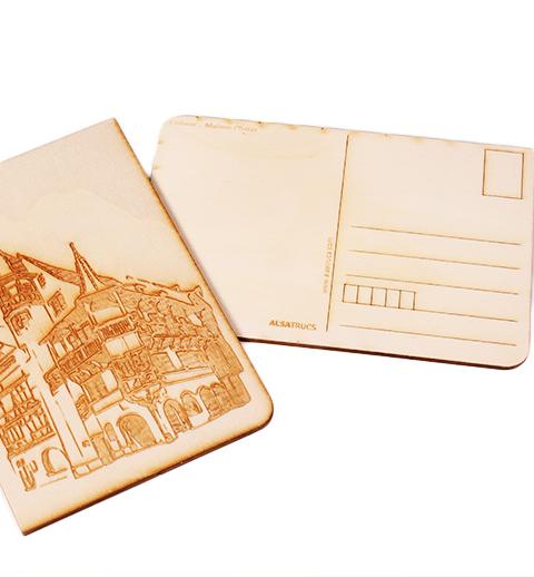 Carte postale Maison Pfister Colmar2