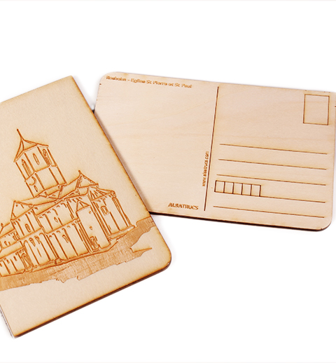 Carte postale Rosheim Abbaye2