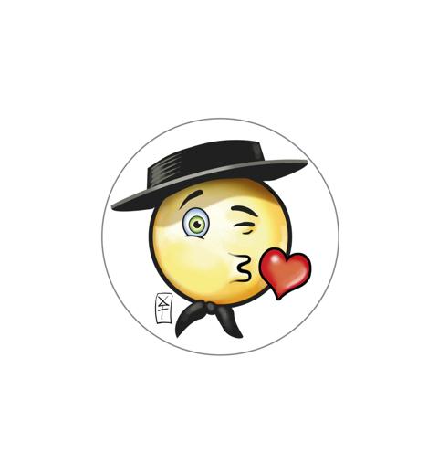 StickerH Kiss W
